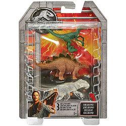 Мир Юрского Периода - Набор из 3 мини-фигурок динозавров FPN73