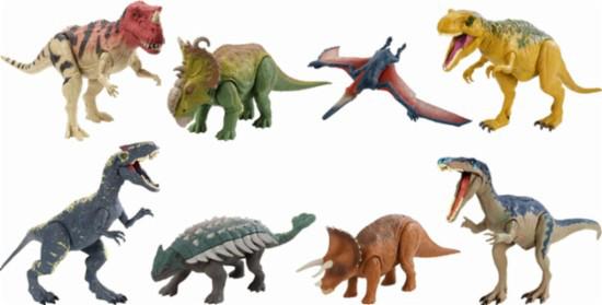 Мир Юрского Периода - Динозавры со звуковыми эффектами, в ассортименте (звук, движение)