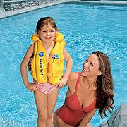 Детский надувной жилет для плавания 50х47 см 3-6 лет, Intex 58660