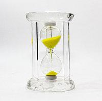 Песочные часы, желтые, 12*8 см