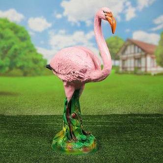 "Садовая фигура ""Фламинго"" , фото 2"
