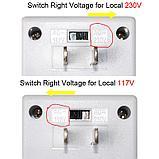 Конвертер преобразователь адаптер Singway SW-S12 110/220 220/110  100w, фото 3