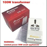 Конвертер преобразователь адаптер Singway SW-S12 110/220 220/110  100w, фото 1