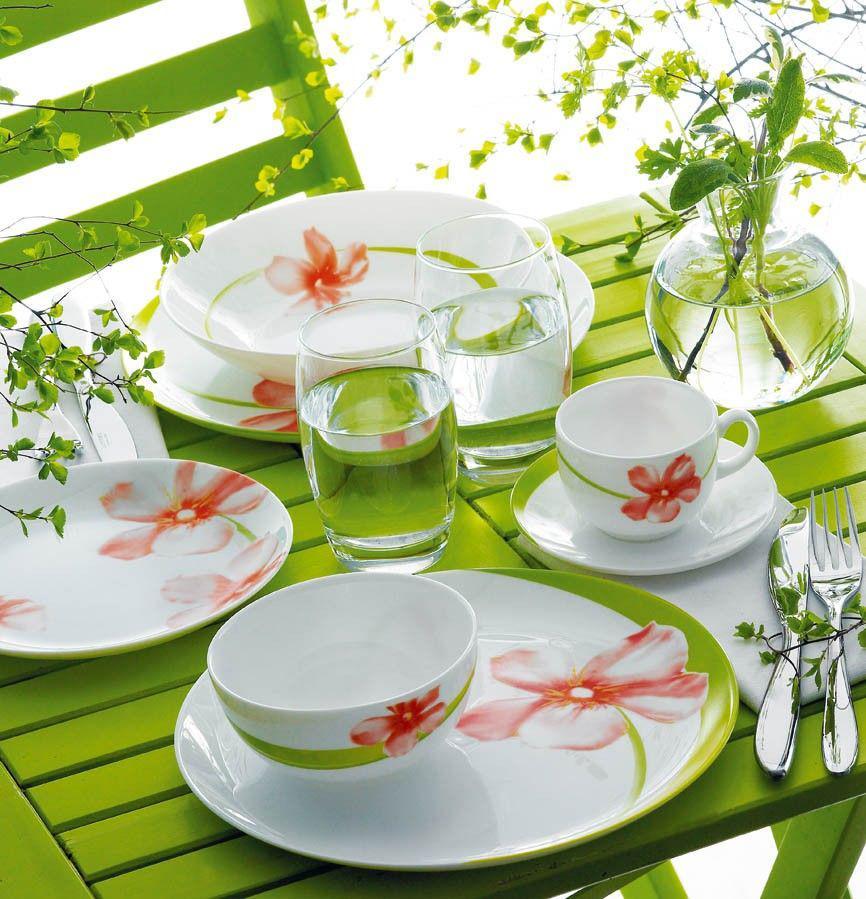 Столовый сервиз Luminarc Diwali Sweet Impression 46 предметов на 6 персон