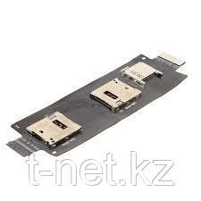 Шлейф Asus Zenfone 2 ZE550ML/ZE551ML, на Сим/Флеш карты (sim/flash)