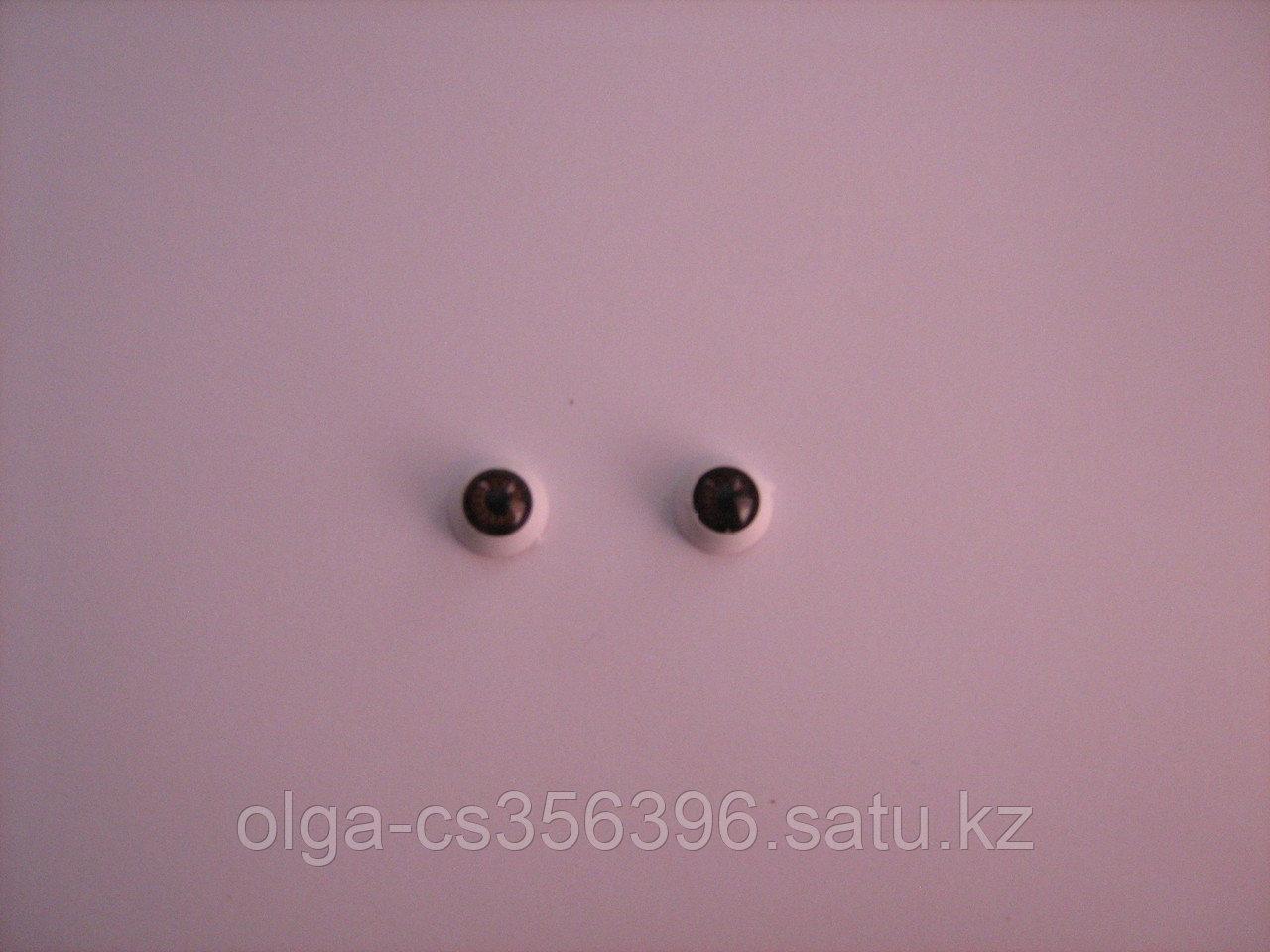 Глазки.Коричневые. 12 мм.  Creativ 2191