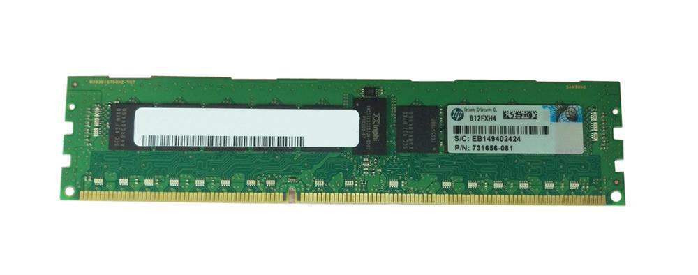 HP 8GB Single Rank x4 PC3L-12800R (DDR3-1600)