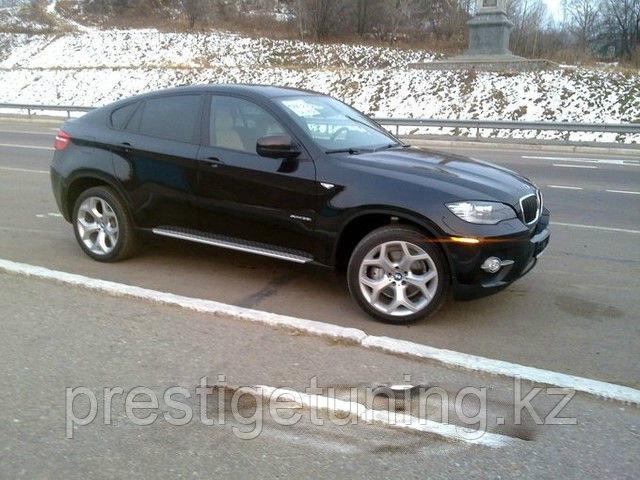 Родные пороги на BMW X6
