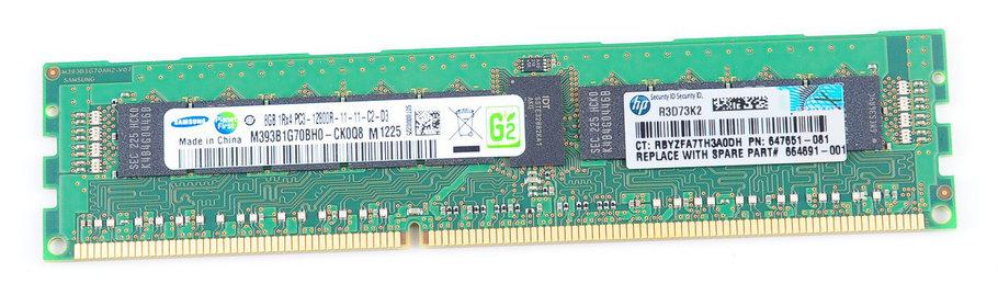 Модуль памяти HP 8GB (647651-081), фото 2