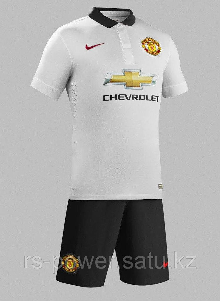 ФК Manchester united детская белая