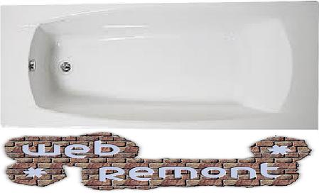 Акриловая ОБРЕЗНАЯ ванна Прагматика 155/173*75 см. 1 Марка. Россия, фото 2