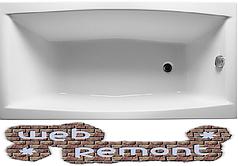 Акриловая  прямоугольная ванна Виола 150*70 см. 1 Марка. Россия