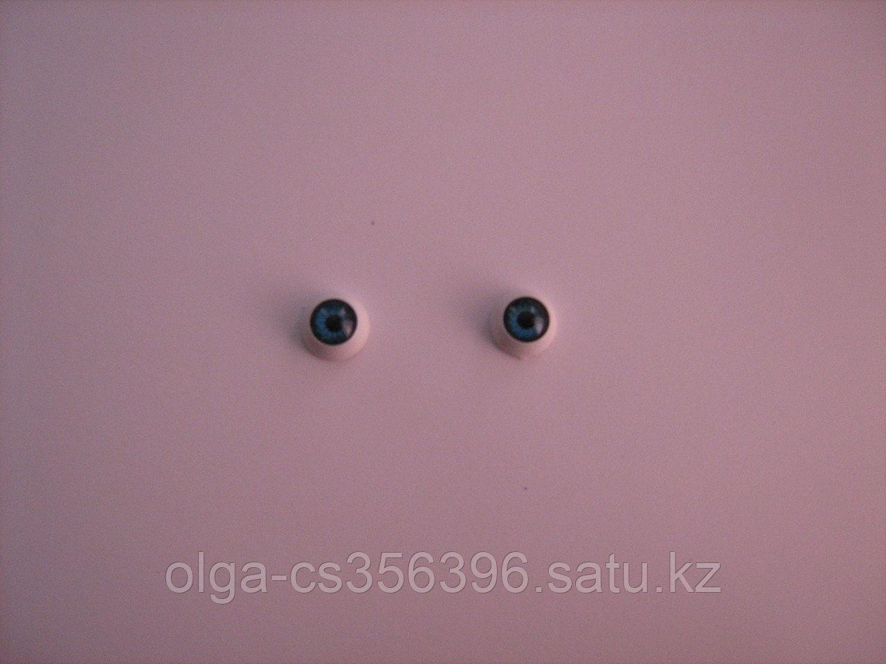 Глазки для игрушек. Синие. 12 мм.  Creativ 2192