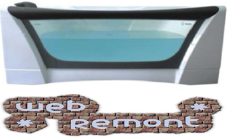 Акриловая  прямоугольная ванна  Дольче Вита 170*75 см. 1 Марка. Россия (Ванна + каркас +ножки)