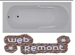 Акриловая прямоугольная  ванна Даная 180x80 см. 1 Марка. Россия (Ванна + каркас +ножки) (Акрил ПММА), фото 2