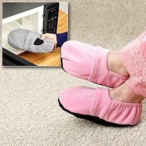 Тапочки разогреваемые «Теплые ножки» (Microwave Heated Slippers)