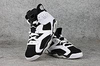 Nike Air Jordan 6 черно-белые (размер 45 в наличии)