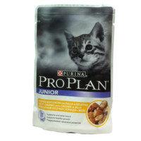 Pro Plan 85гр Курица в желе для котят ПроПлан Влажный корм, пауч 85 г