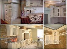 Корпусная мебель из массива и шпона изготовление на заказ в Астане и Алматы