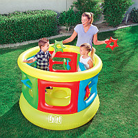 Детский надувной батут круглый 152х107 см, Bestway 52056