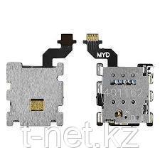 Шлейф HTC One M8 на сим