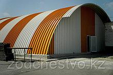 Строительство самонесущих арочных ангаров, зданий и сооружений из легких металлоконструкций