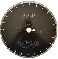 Алмазный диск по асфальту 350 мм. ALEXDIA