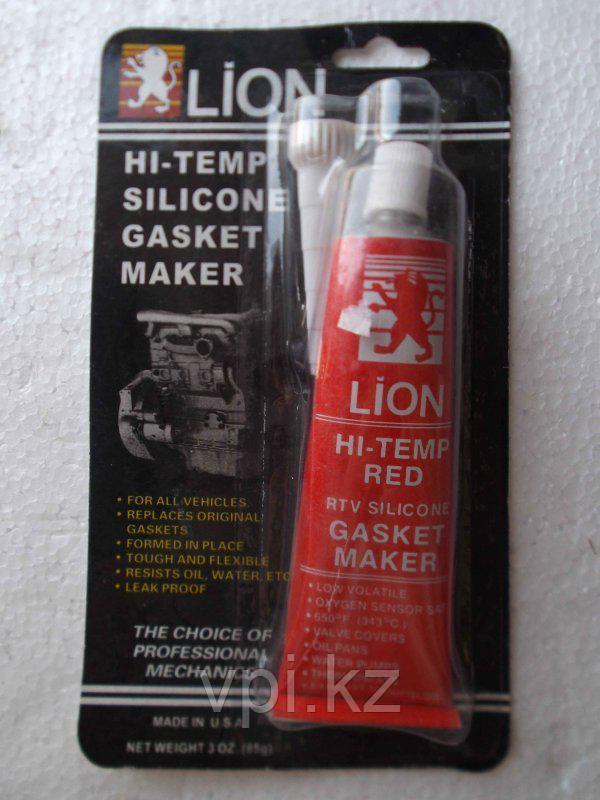 Герметик красный высокотемпературный LION
