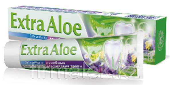 """Зубная паста Альпийские травы """"Aloe Extra Dent"""""""