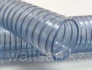 Армированный шланг гофрированный напорно-всасывающий d 100 ПВХ