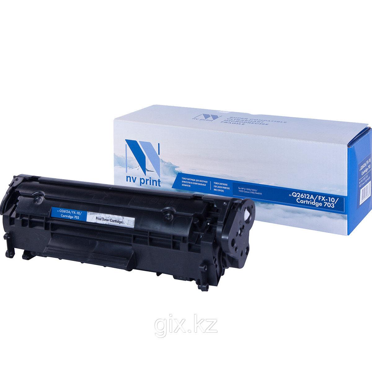 Картридж HP Q2612A/Canon FX-10/703