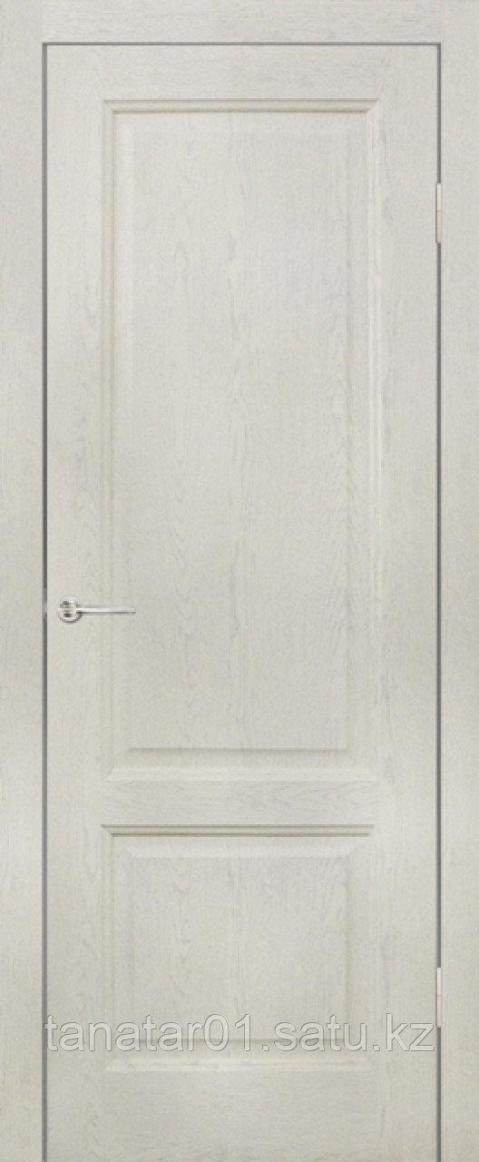 Дверь глухая Лира , цвет слоновая кость