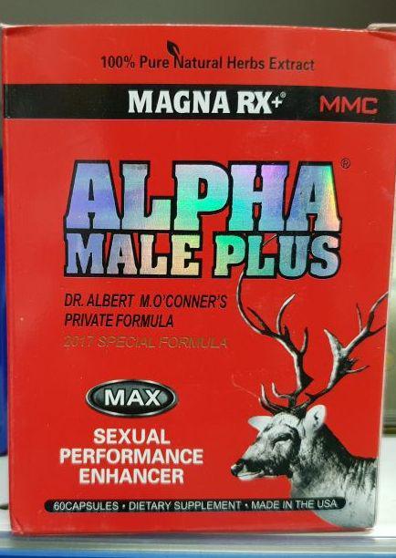 Alpha Male Plus Альфа Самец 60 кап.