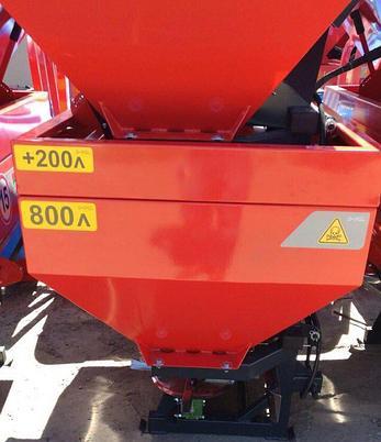 Разбрасыватель минеральных удобрений 1000 литров D-POL, фото 2