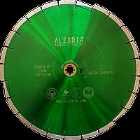 Алмазный диск по свежему бетону 350 мм. ALEXDIA