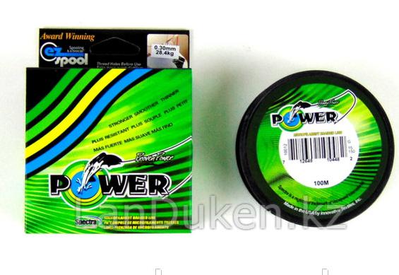 Леска шнур рыболовная 100 м POWER WEI-D 07 0,35 мм