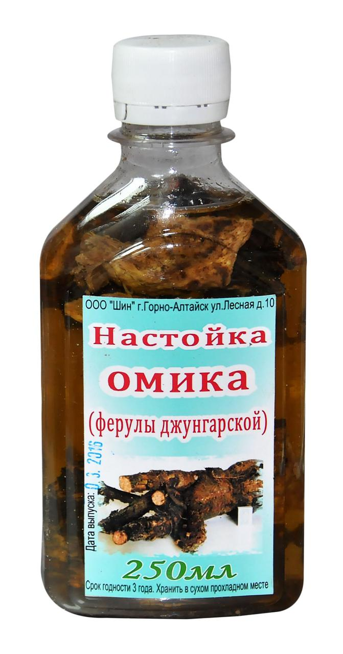 Омик (ферула джунгарская), настойка, 250 мл