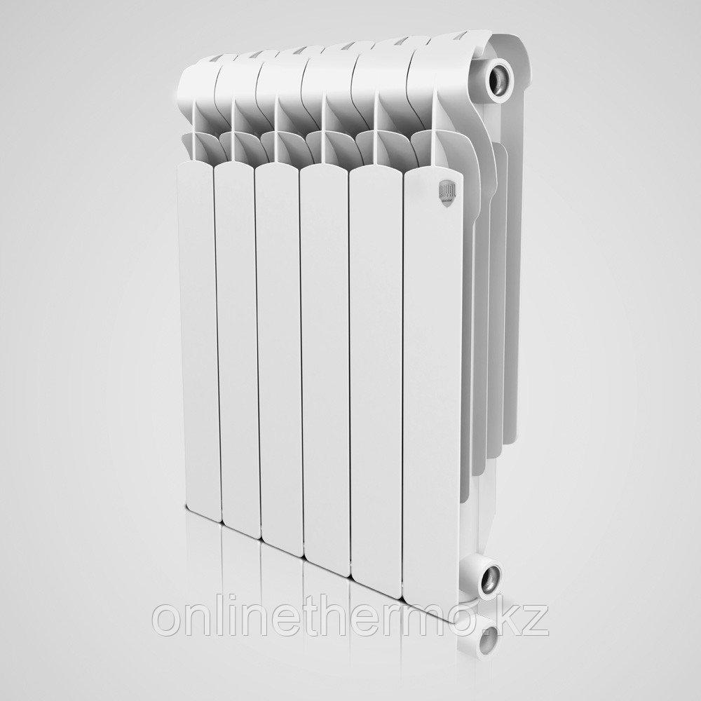 Радиатор алюминиевый Indigo 500/100 Royal Thermo (РОССИЯ) - фото 2