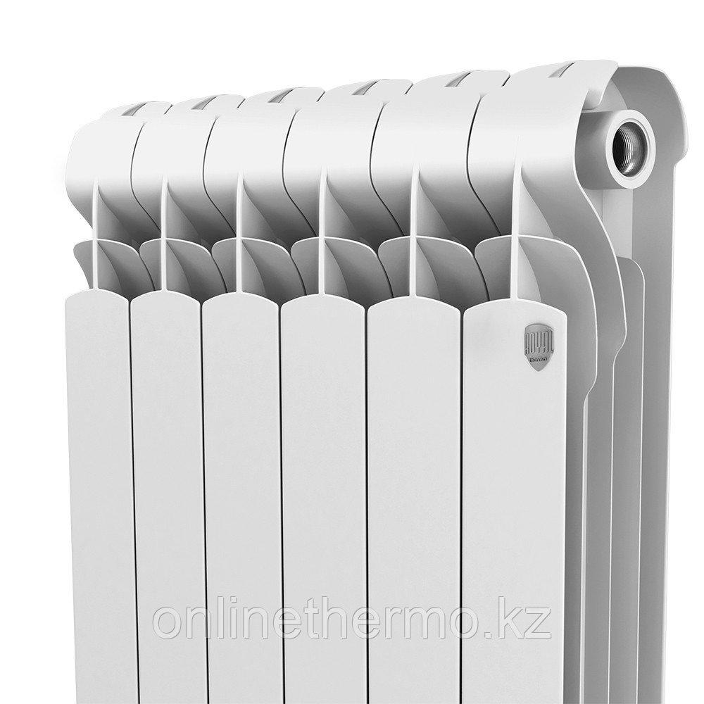 Радиатор алюминиевый Indigo 500/100 Royal Thermo (РОССИЯ) - фото 4
