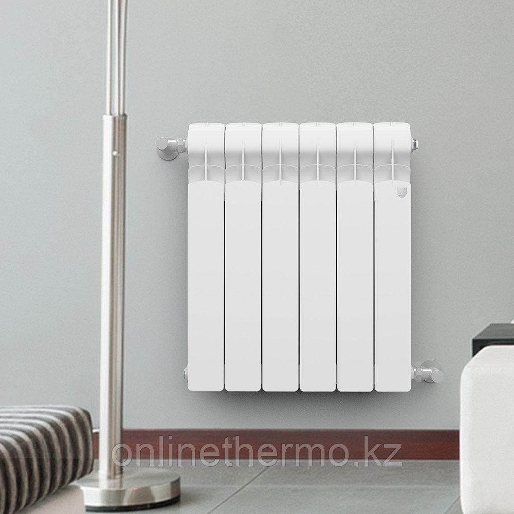 Радиатор алюминиевый Indigo 500/100 Royal Thermo (РОССИЯ) - фото 7