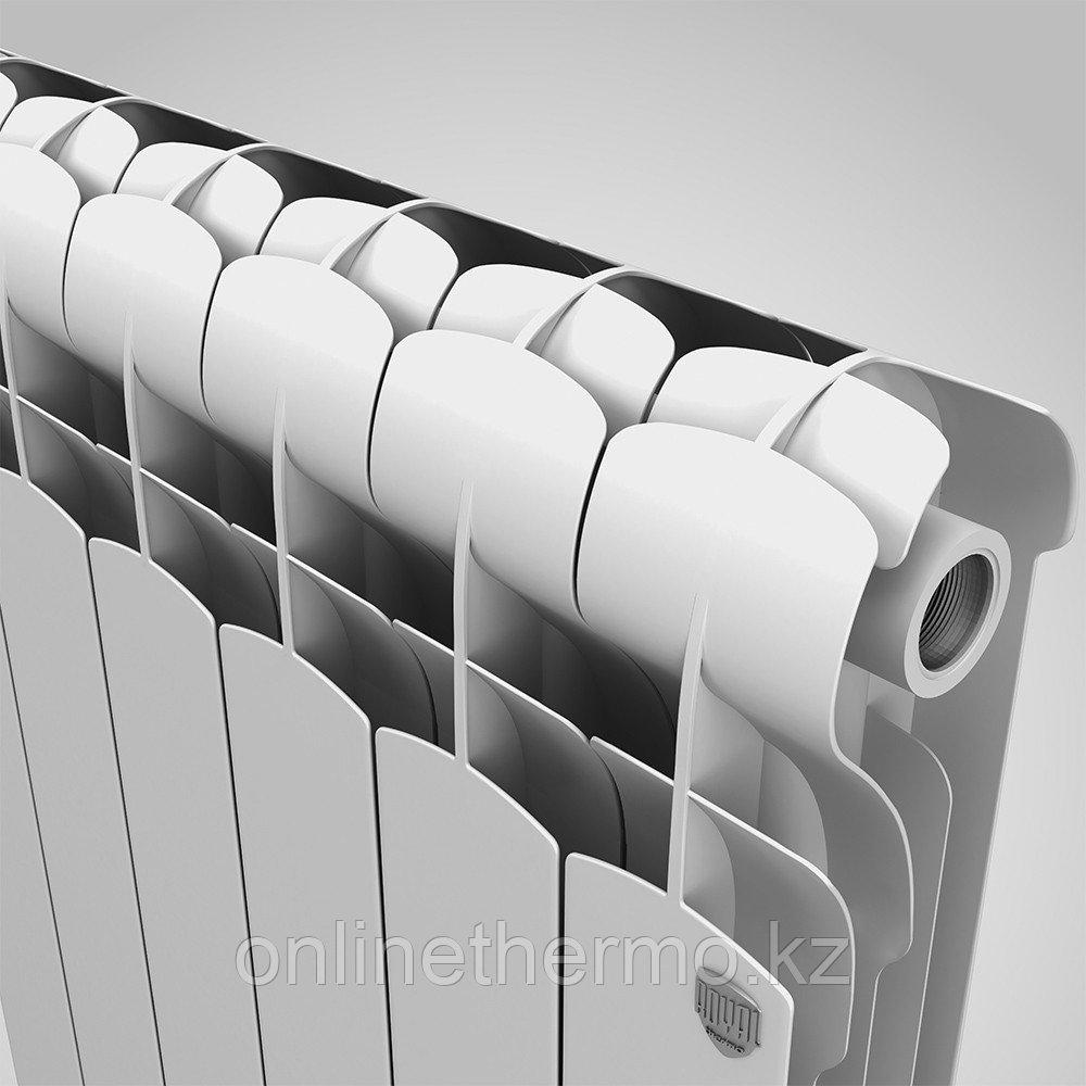 Радиатор алюминиевый Indigo 500/100 Royal Thermo (РОССИЯ) - фото 5