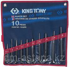 Набор выколоток, бородков, кернеров, 10 предметов KING TONY 1010PR