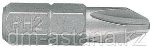 """Вставка (бита) торцевая 1/4"""", Phillips, PH1, L = 25 мм KING TONY 102501P"""