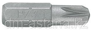 """Вставка (бита) торцевая 1/4"""", Pozidriv, PZ2, L = 25 мм KING TONY 102502Z"""