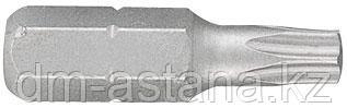 """Вставка (бита) торцевая 1/4"""", TORX, T25, L = 25 мм KING TONY 102525T"""