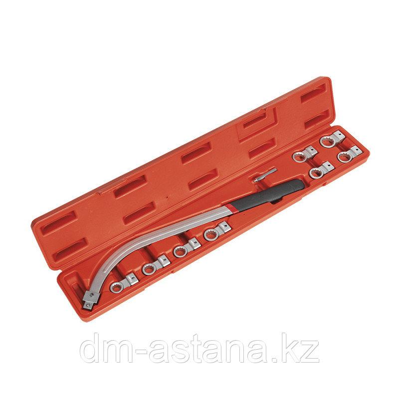 Набор ключей для натяжения ремня, 12-19 мм, кейс, 10 предметов МАСТАК 103-20116C
