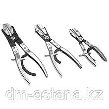 Набор щипцов для пережима шлангов, 3 предмета МАСТАК 103-60103