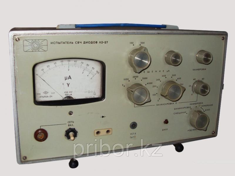 Л2-27 испытатель СВЧ диодов