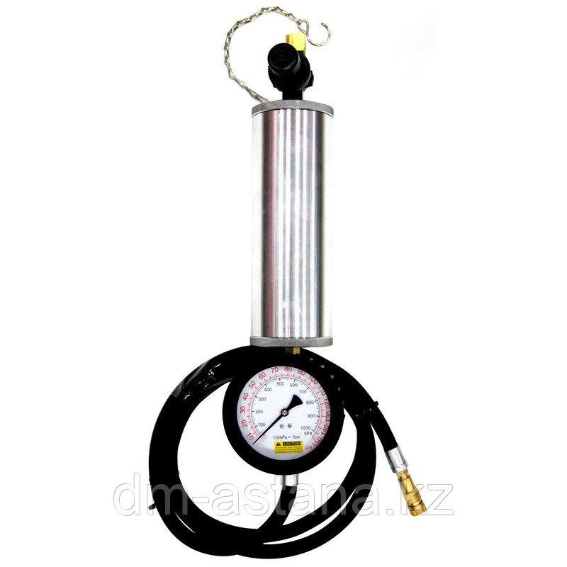 Манометр с колбой для очистки топливных систем, 1 л МАСТАК 120-03001