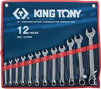 Набор комбинированных ключей, 6-22 мм, 12 предметов KING TONY 1272MR